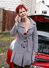 Naughty Mature Lsut Getting A Black Hammer To Work With
