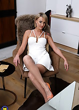 This Hot Milf Loves To Unwind By Herself